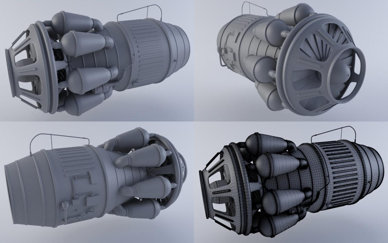 3ds jet engine
