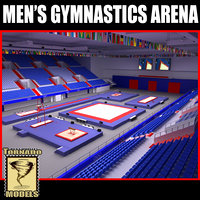 Men Gymnastics Arena