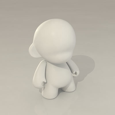 design munny 3d model