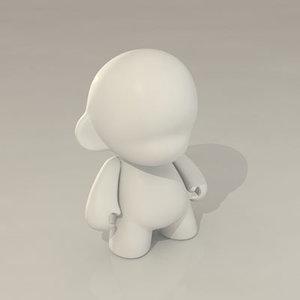 design munny 3d model