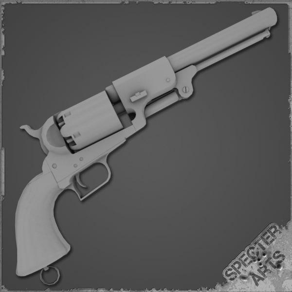 maya 1848 dragoon pattern revolver