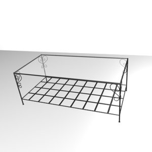 table bass forged 3d 3ds