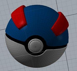 ultra ball 3d model