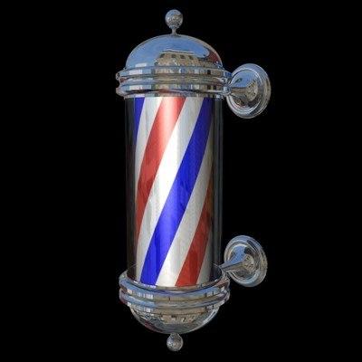Animated Barber Pole barber pole 3d ...