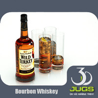 Wild Turkey Bourbon Bottle