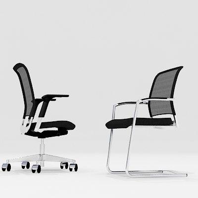 interstuhl xantos chair 3d max