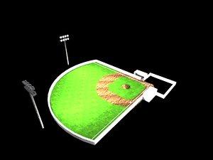 free max model baseball field