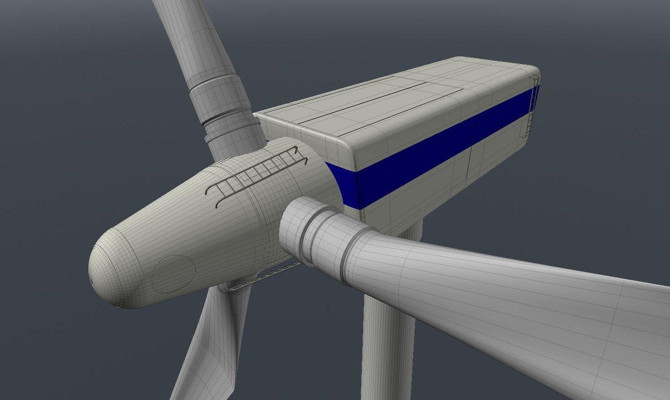 wind windmill obj