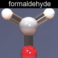 3ds max molecule formaldehyde