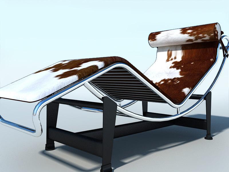 lightwave lc4 chaise longue corbusier