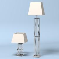 leomirai modern table 3d 3ds