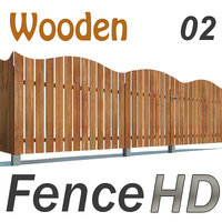 Fence Wooden HD