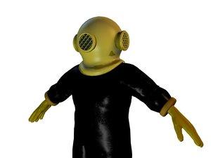 3ds max deep sea suit