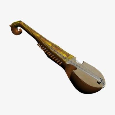 rabab strings 3d max