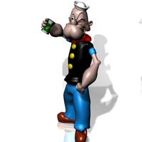 popeye spinash 3d 3ds