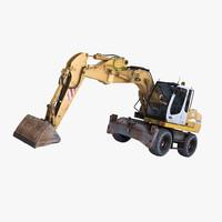 max liebherr excavator