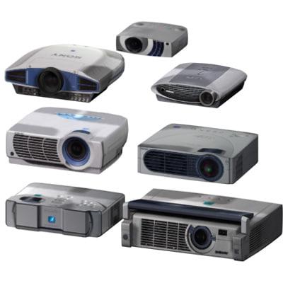 max 7 projectors