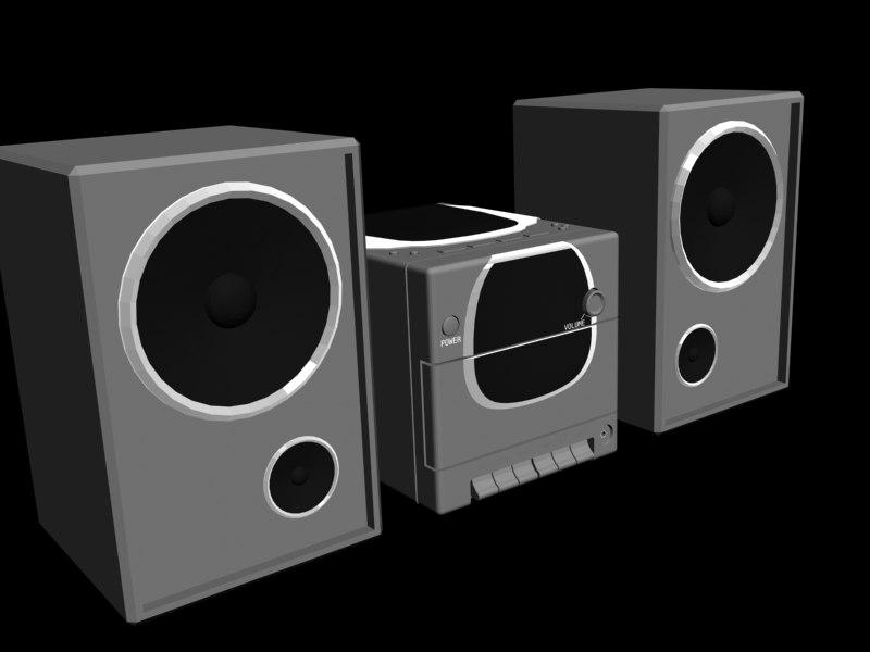 3d model cd player