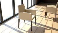 3ds max poltrona frau liz armchair