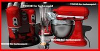 3ds max kichenaid espresso blender
