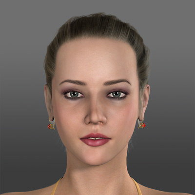 figure alesia 3d model