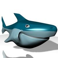 3dsmax smiling shark