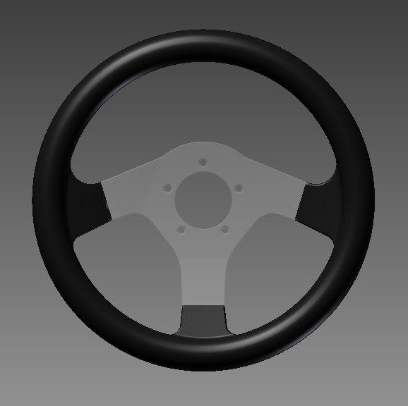 steering wheel victor 330 3d 3ds