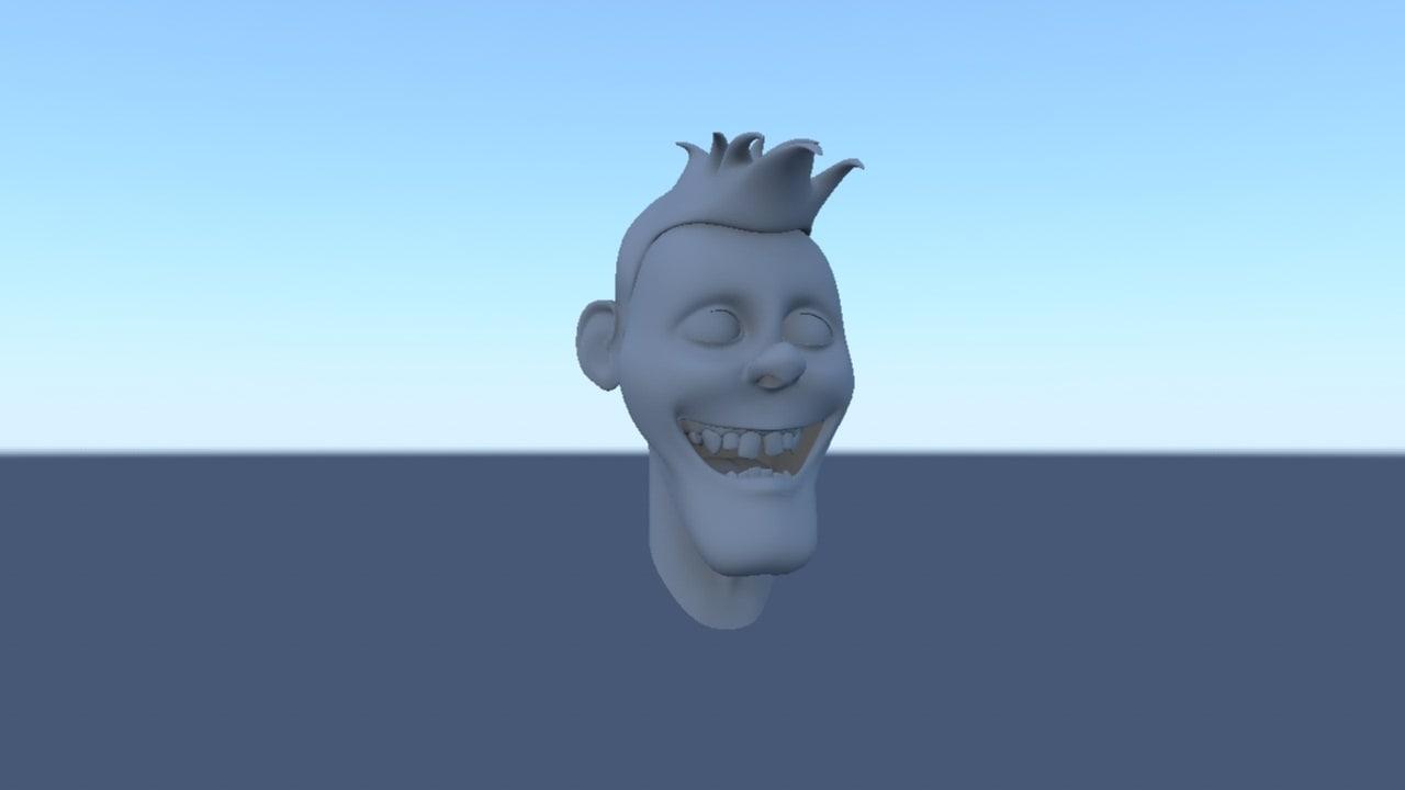 free head 3d model