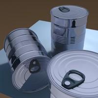 3d tin ringpull model