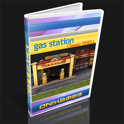 gas station 3ds