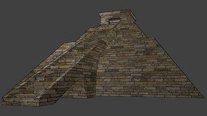 free ziggurat 3d model