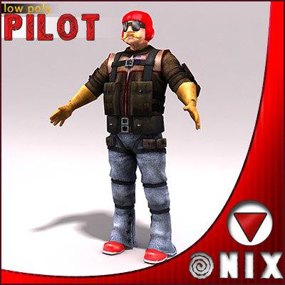 military pilot max