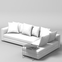 FLEXFORM SOFA MODERN CORNER CONTEMPORARY