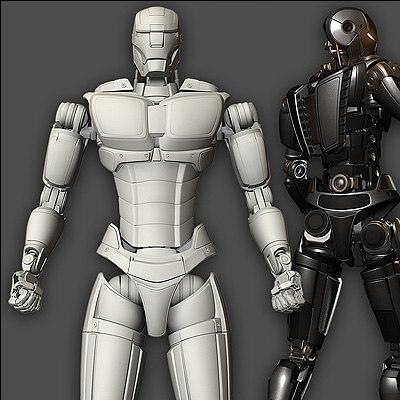 ma advanced robot human