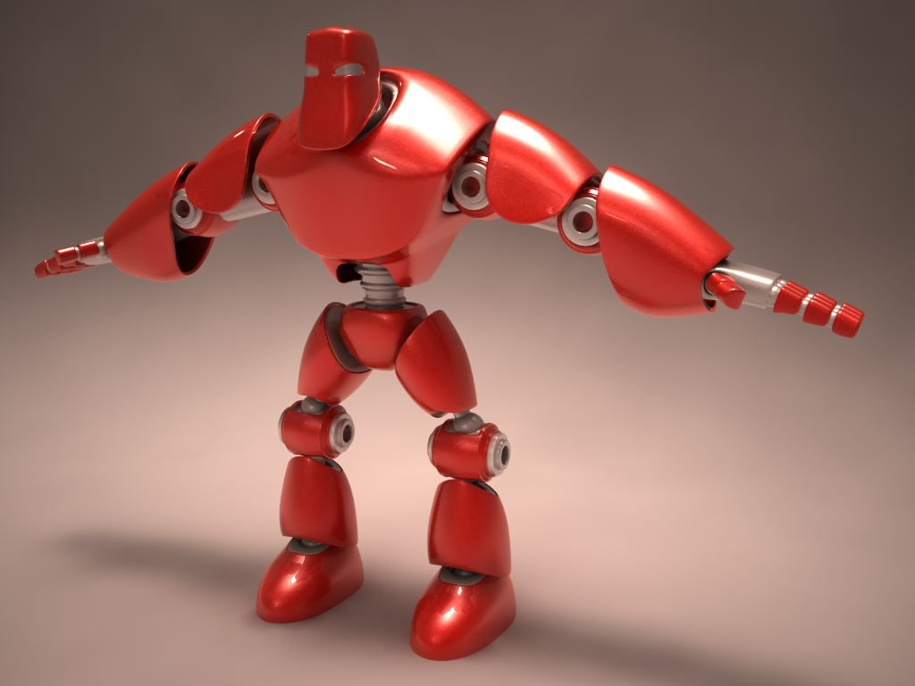 3ds robotic hero