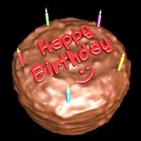 lightwave birthday cake
