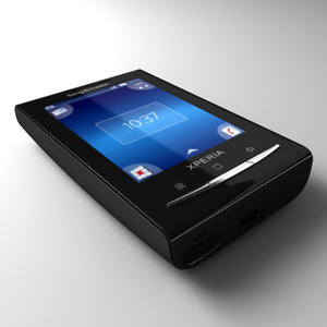 sonyericsson xperia x10 mini 3d model