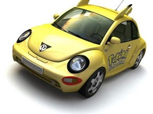 3d car 12 model