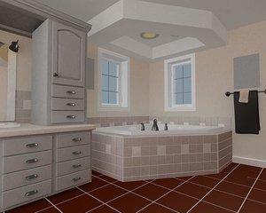 free bath 3d model