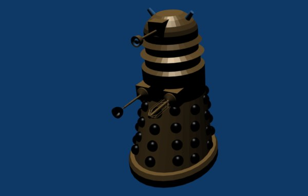 dalek doctor 3ds free