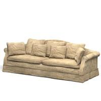 classic sofa aged 3d model