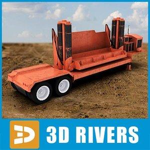 car crusher 3d model
