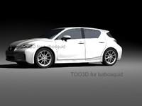 200h lexus 3d model