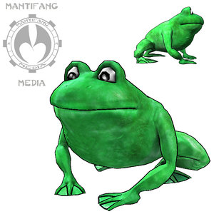 3ds max frog games