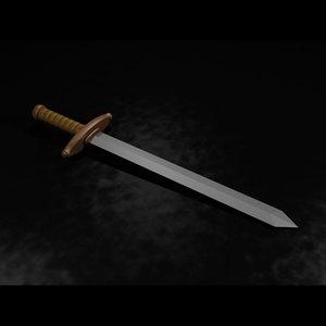 maya sword grip