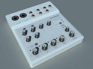 3ds max electronic yamaha