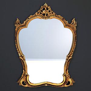 3d model il tempo del mirror