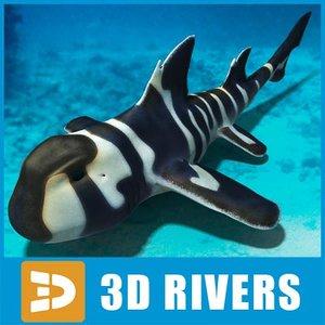 japanese shark bullhead 3d model