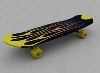 3d model skate board skateboard