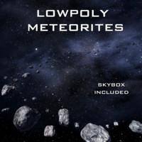 Meteorites (Lowpoly)